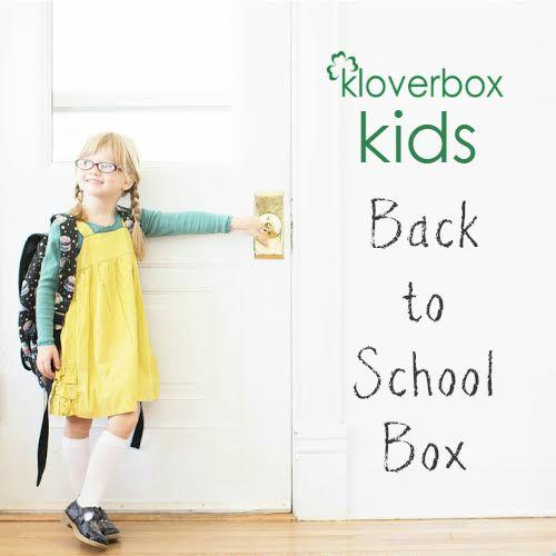 Kloverbox Kids Back to School Box
