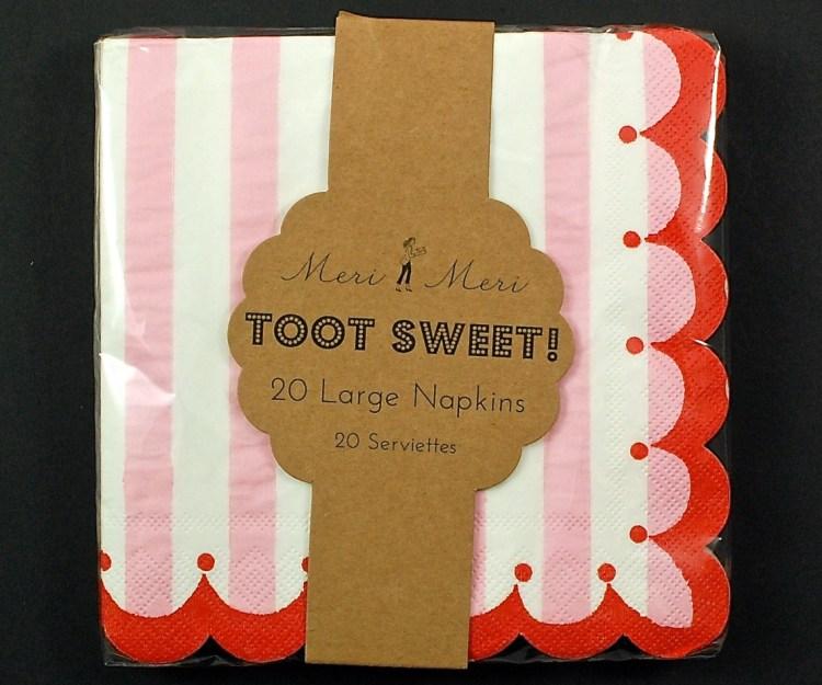 Meri Meri Toot Sweet napkins
