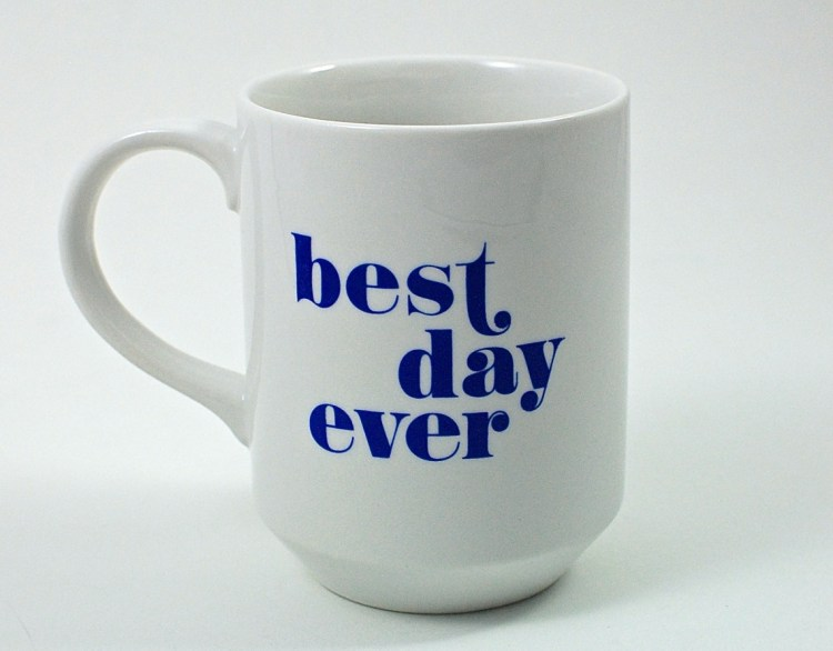 best day ever mug