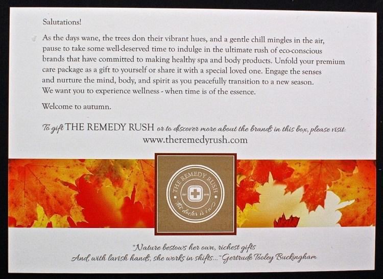 The Remedy Rush
