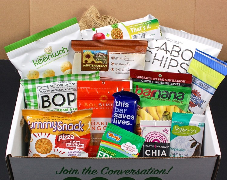 SnackSack August 2015 Review & Coupon Code