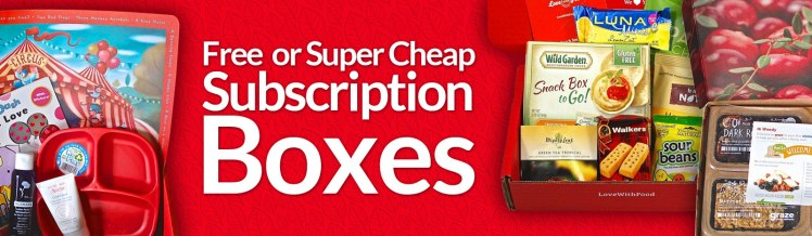 Free Subscription Box List Update February 2016