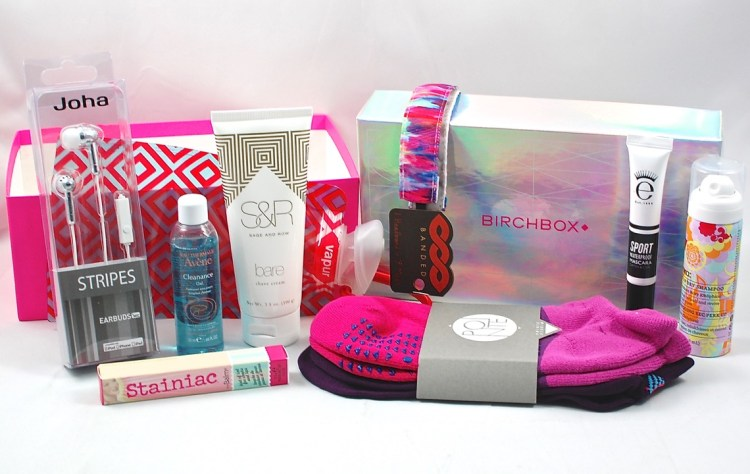 "Birchbox Limited Edition ""Gym Bag Heroes"" Review & Giveaway! (3 Winners!)"