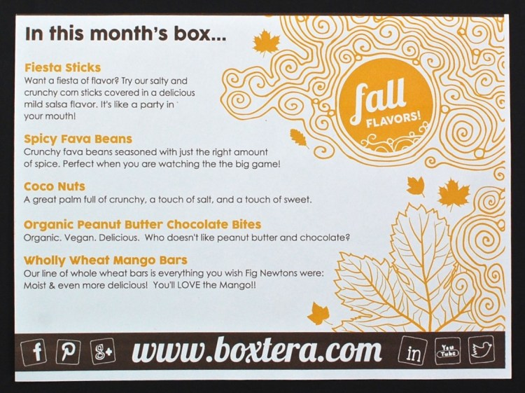 September Boxtera