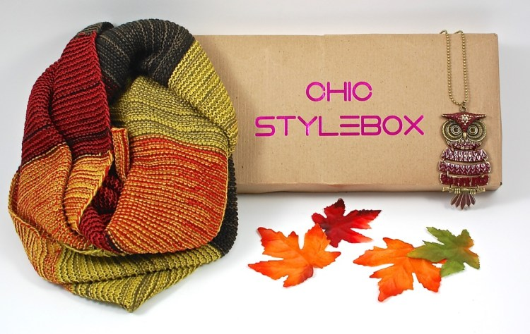 Chic StyleBox September 2015 Fall Box Review