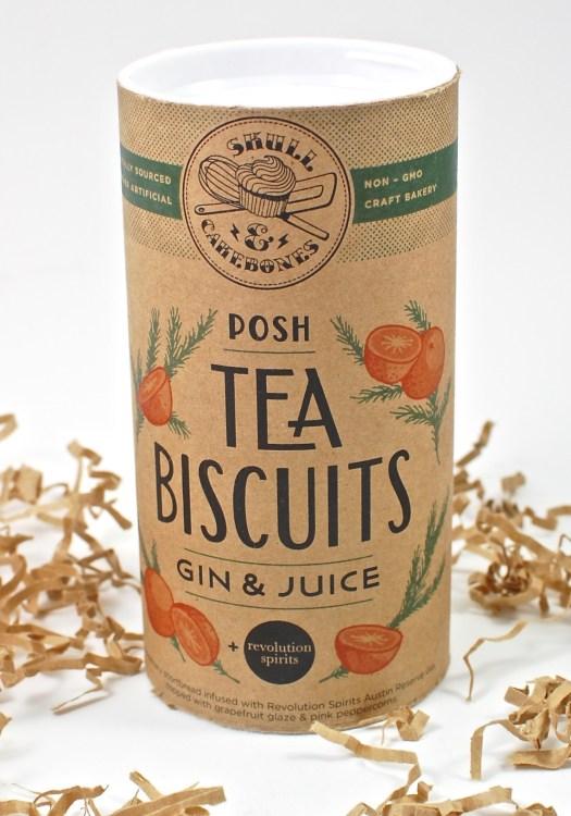 gin & juice tea biscuits