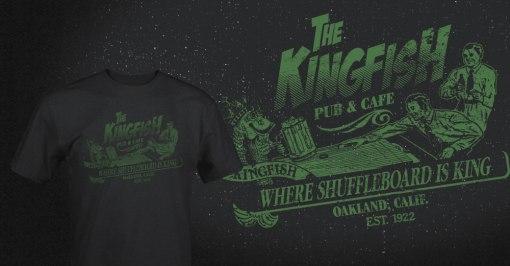 The Kingfish shirt