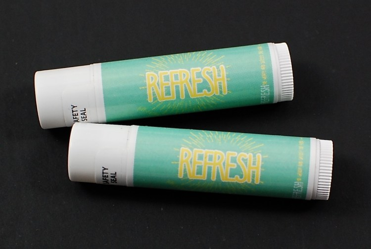 Refresh lip balms