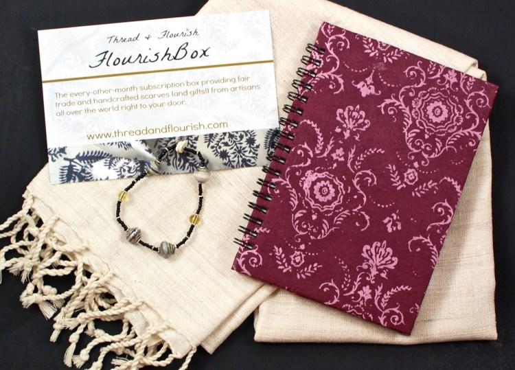 Thread & Flourish September 2015 FlourishBox Review