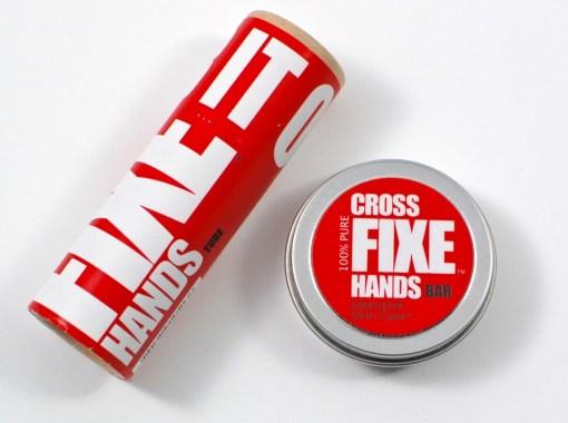 Cross fixe hands tube