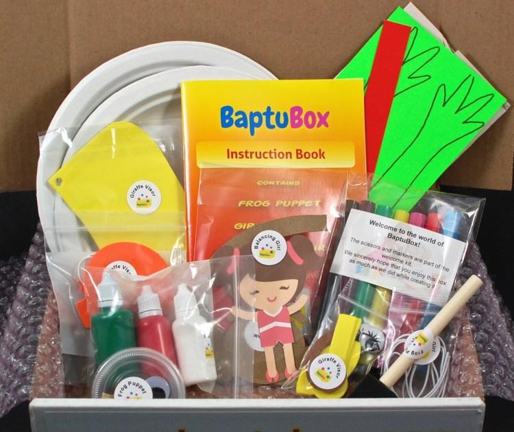 BaptuBox September 2015 Review & 50% Coupon Code
