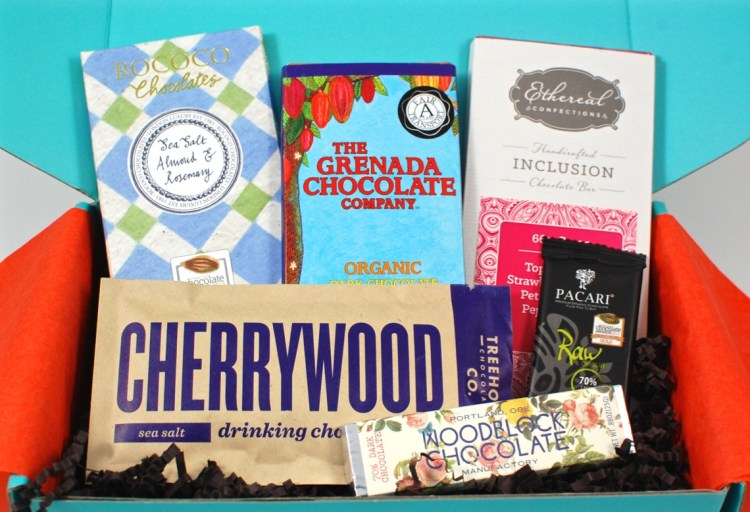 Chococurb October 2015 Chocolate Subscription Box Review