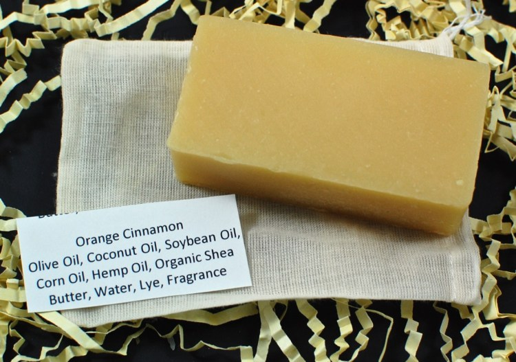 orange cinnamon soap