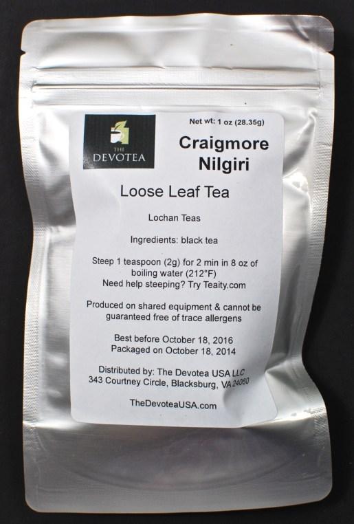 Craigmore nilgiri tea