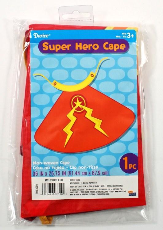 superhero cape