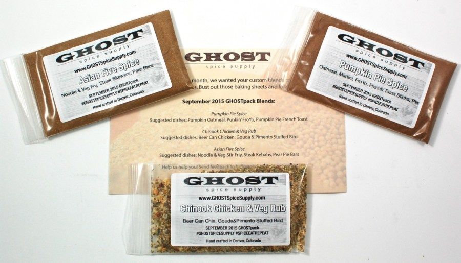 GHOST Spice Supply GHOSTpack