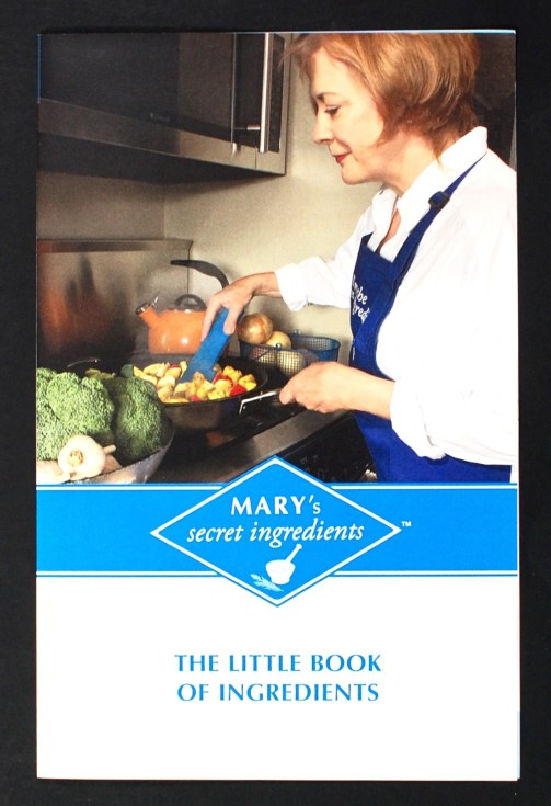 Mary's Secret Ingredients