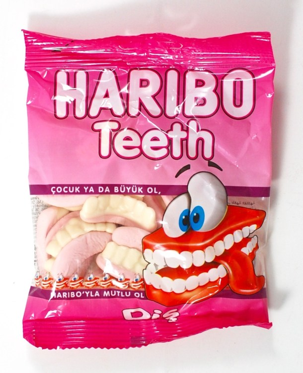 Haribo teeth