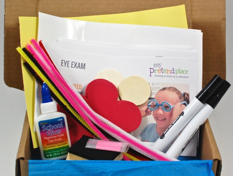 My Pretend Place October 2015 Projects Box Review & Coupon Code
