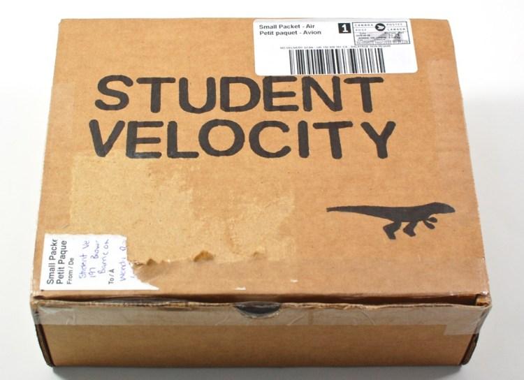 Student Velocity box