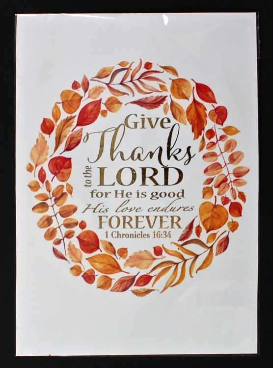 thankful print