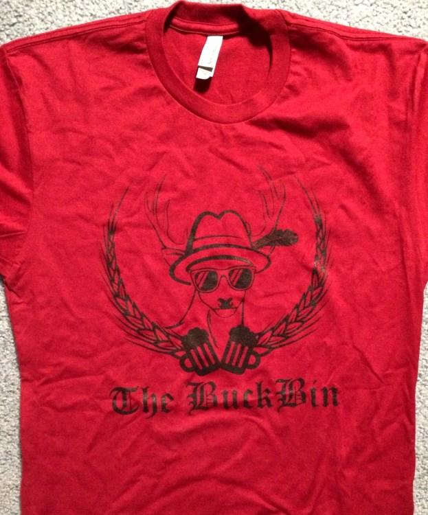 BuckBin t-shirt