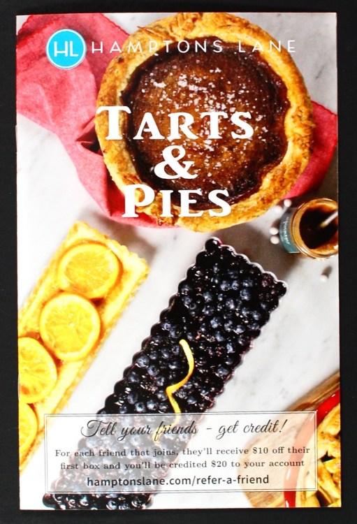 Hamptons Lane Tarts & Pies box
