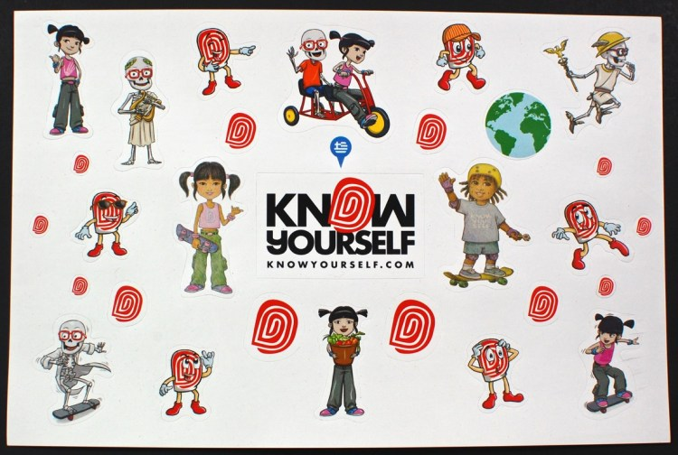 Know Yourself stickers