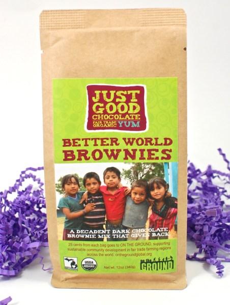 better world brownies