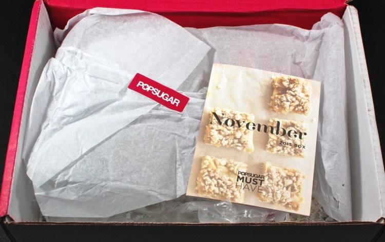 November POPSUGAR Must Have box