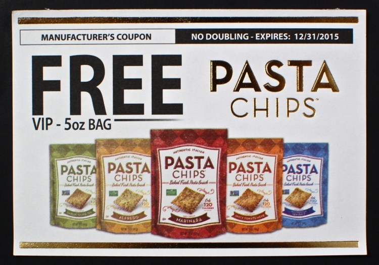 pasta chips coupon