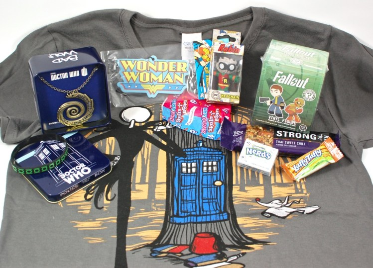 Unlimited Notions October 2015 Geek Box Review