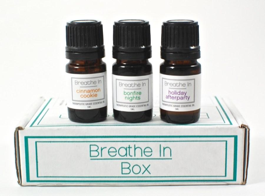 November 2015 Breathe in Box review