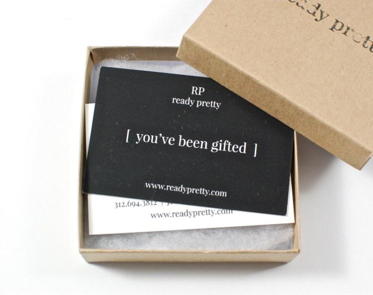 ready pretty gift card