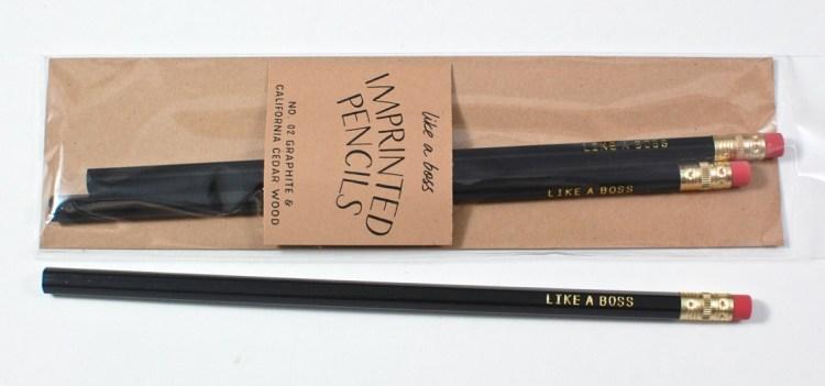 like a boss pencils