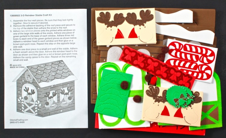 reindeer house kit