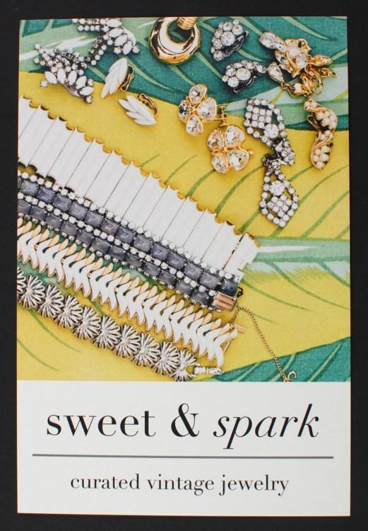 Sweet & Spark card