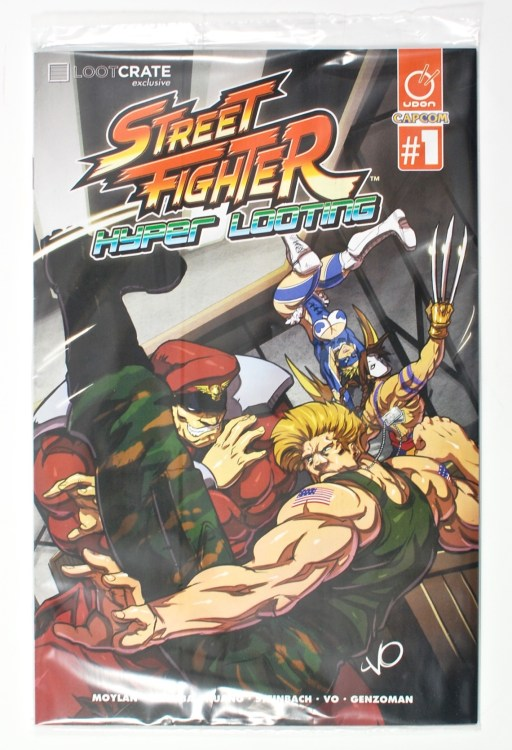 Street Fighter Loot Crate comic