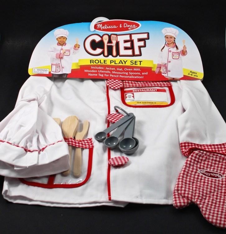 melissa & doug chef costume