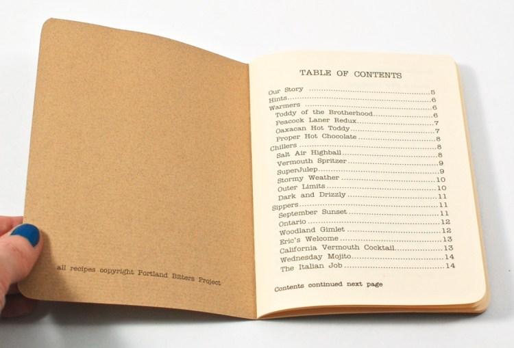 bitters recipe book