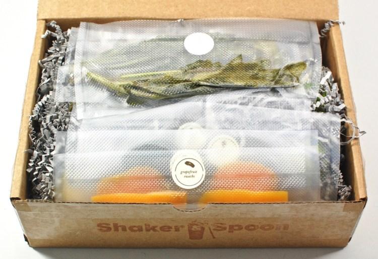 Shaker & Spoon box