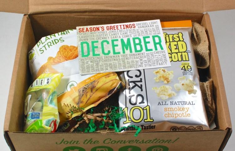 December Snack Sack box