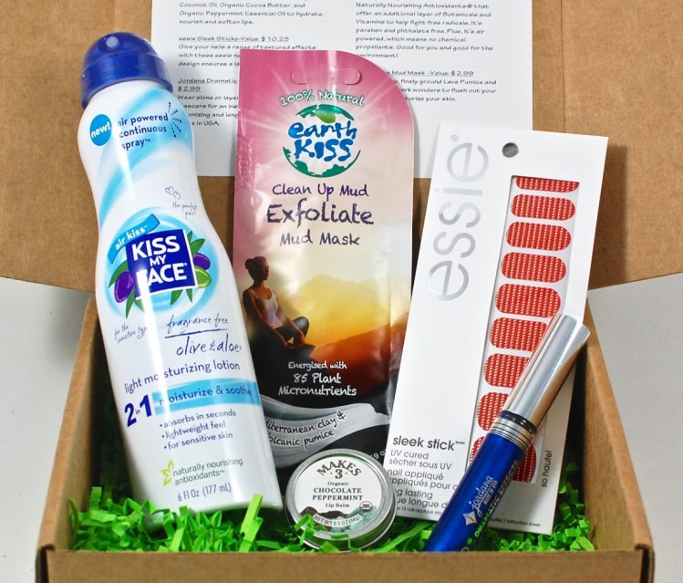 December 2015 The Better Beauty Box review