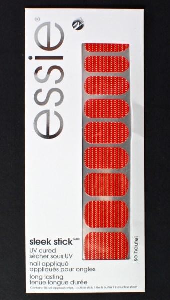 Essie nail stickers