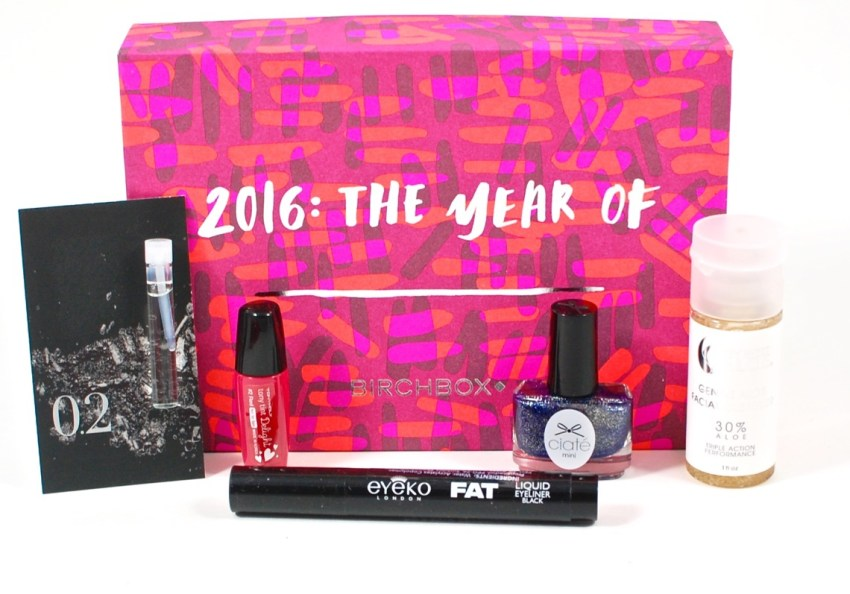 January 2016 Birchbox review