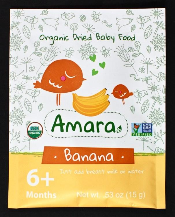 Amara baby food