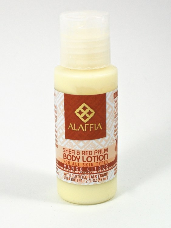 Alaffia lotion