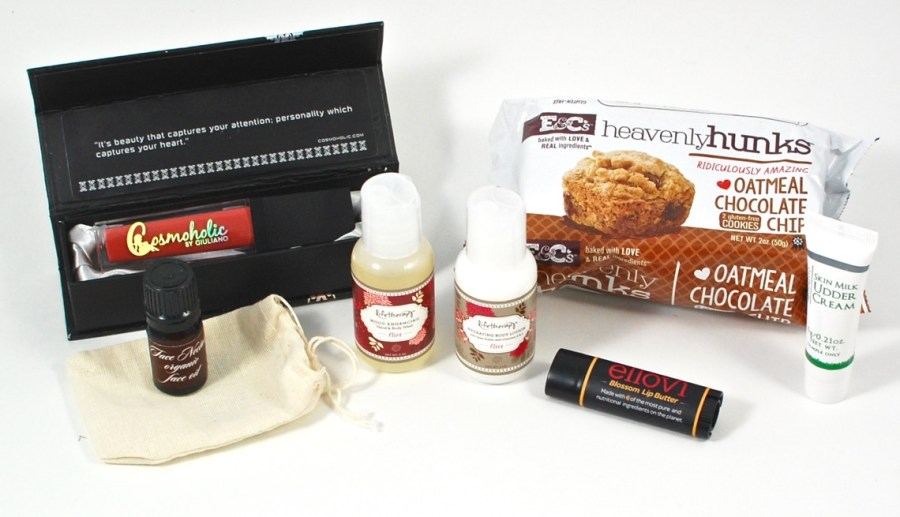 December 2015 The Grapevine Box review