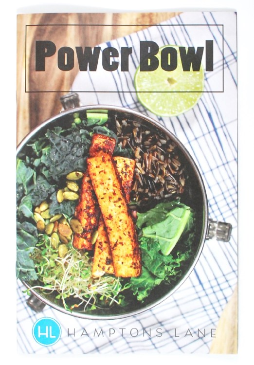 Hamptons Lane Power Bowl box