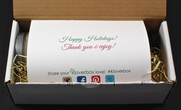 Kloverbox December 2015